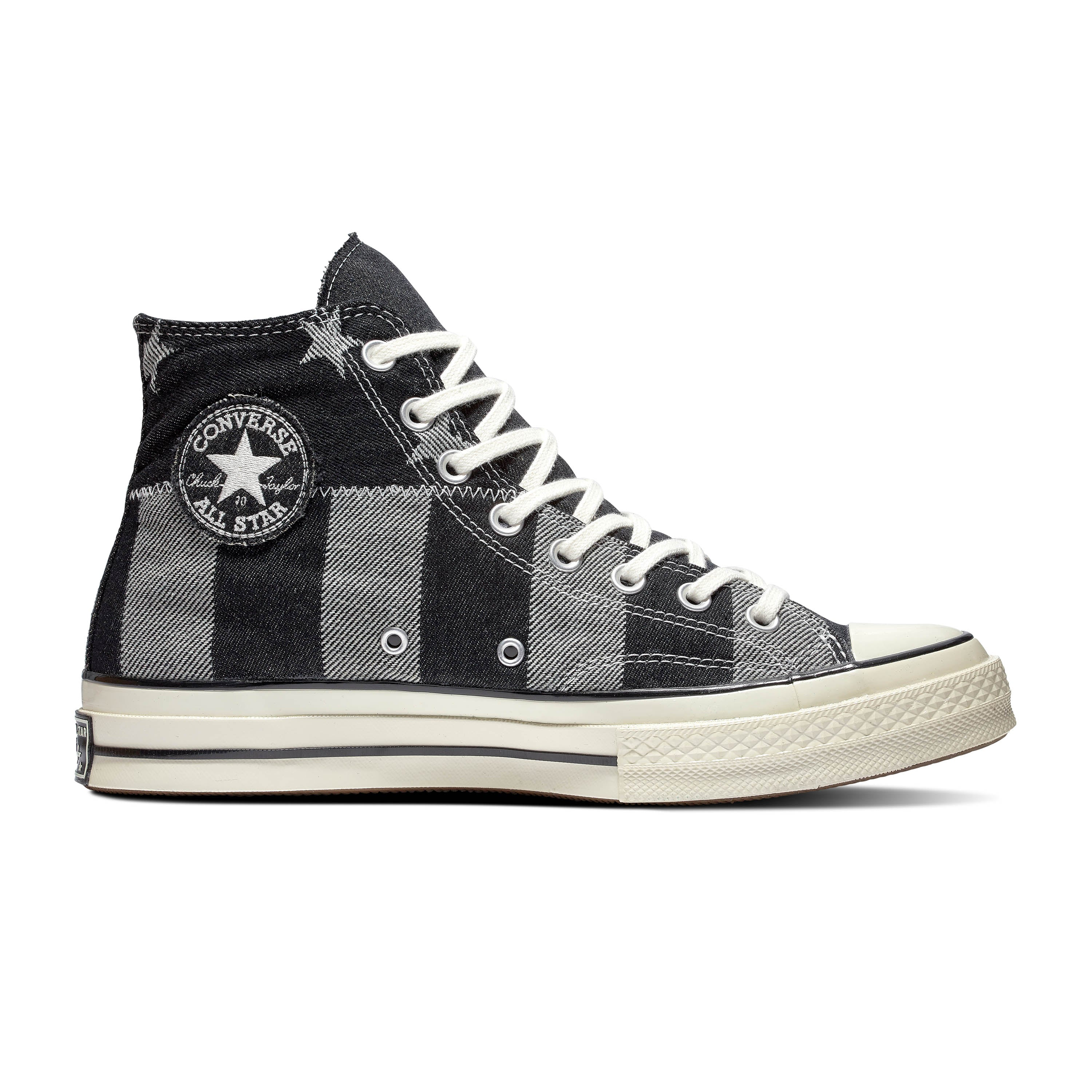 CONVERSE CHUCK 70 STARS AND STRIPES DENIM HI UNISEX SNEAKERS 167709C
