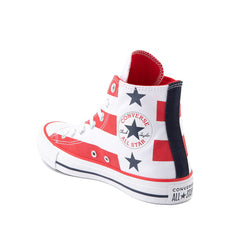 CONVERSE CHUCK TAYLOR ALL STAR STARS AND STRIPES HI UNISEX SNEAKERS 167836F