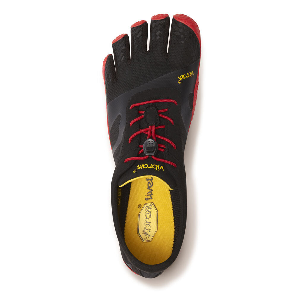VIBRAM KSO EVO Black/Red Unisex Five Fingers 18M0701
