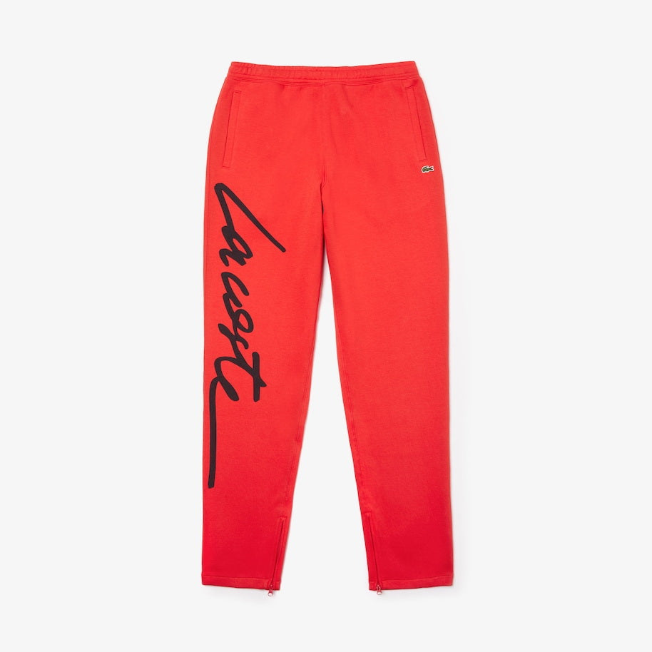 Lacoste LIVE Signature Textured Fleece Sweatpants HH8183-51-2QV