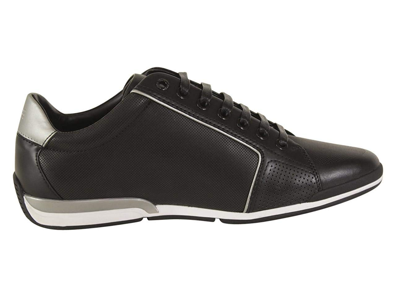 HUGO BOSS SATURN_LOWP_LOGO LACE-UP SNEAKER 50408040-001