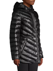 MACKAGE TARA WOMEN'S LIGHTWEIGHT DOWN JACKET W/ HOOD TARA-RL-Black
