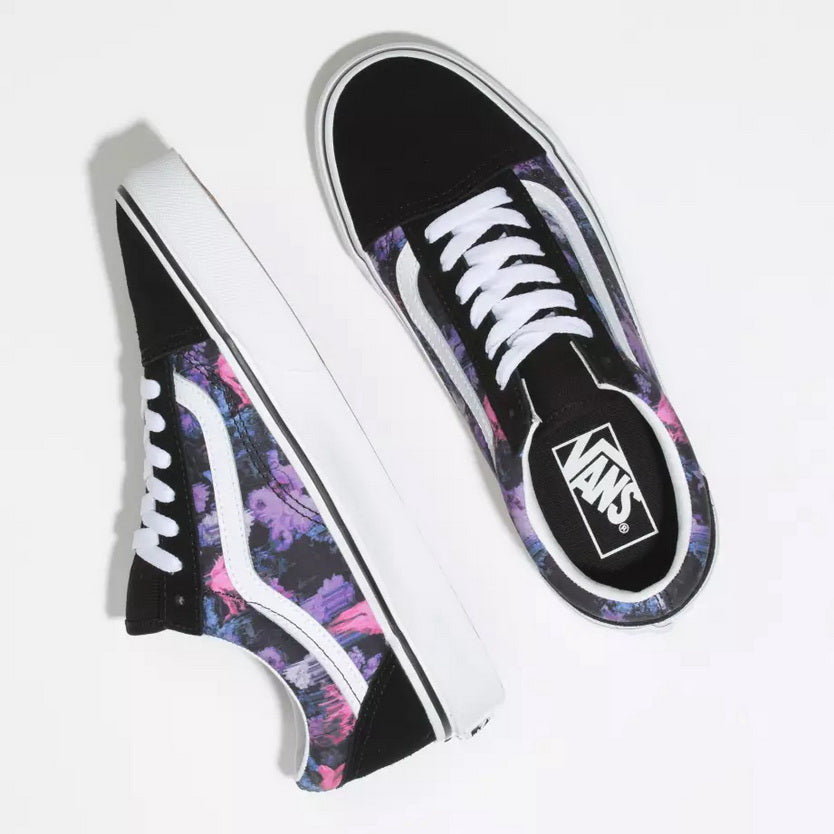 Vans WARPED FLORAL OLD SKOOL Mens sneakers  VN0A4BV5T7R