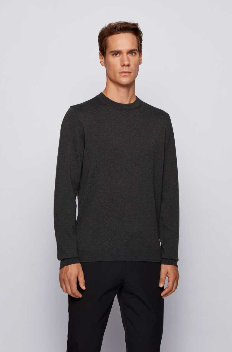HUGO BOSS RANCO CREW NECK MEN'S SWEATSHIRT 50433935-010
