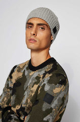 HUGO BOSS KRAFENO MEN'S KNIT HAT 50439379-034