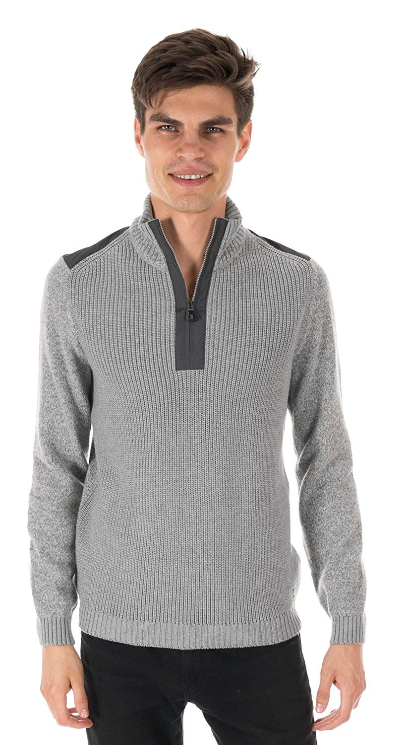 Hugo Boss Knitted-Pullover Zem Light/Pastel Grey 50299993-059