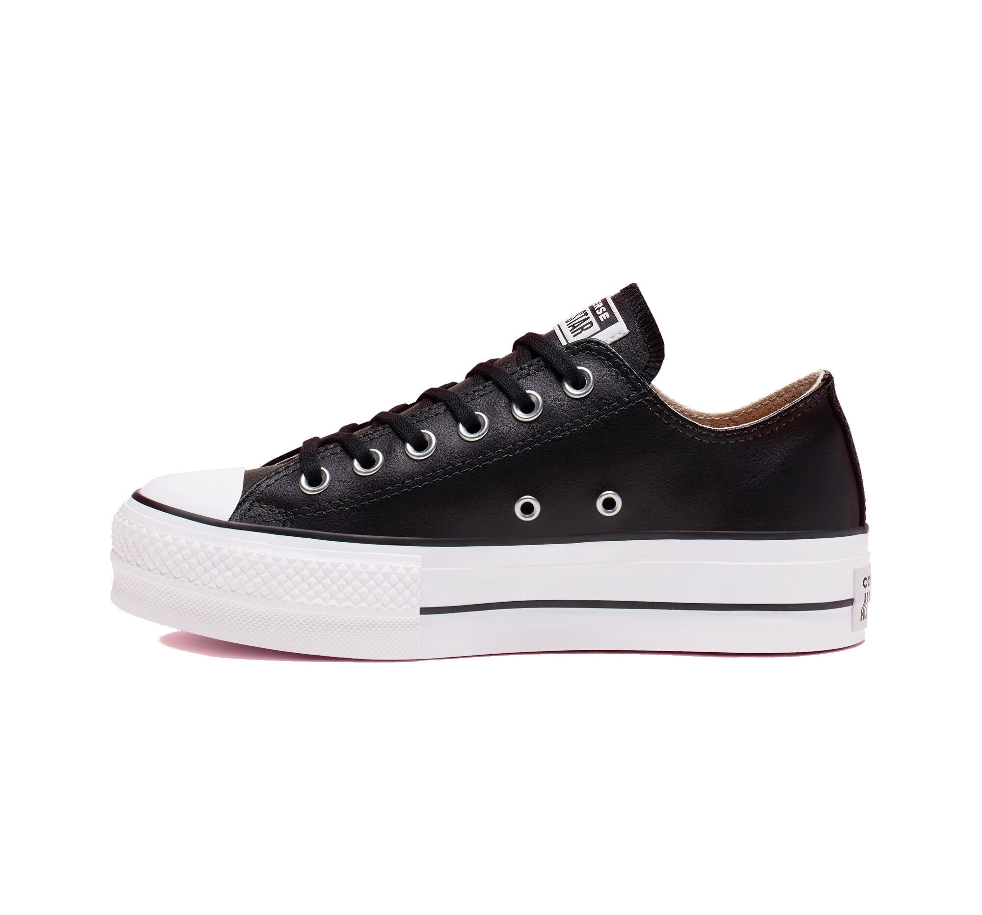 Converse Chuck Taylor All Star Leather Platform Low Top Womens 561681C