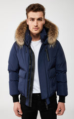 MACKAGE NATHAN-F MEN'S JACKET nathan-f-navy