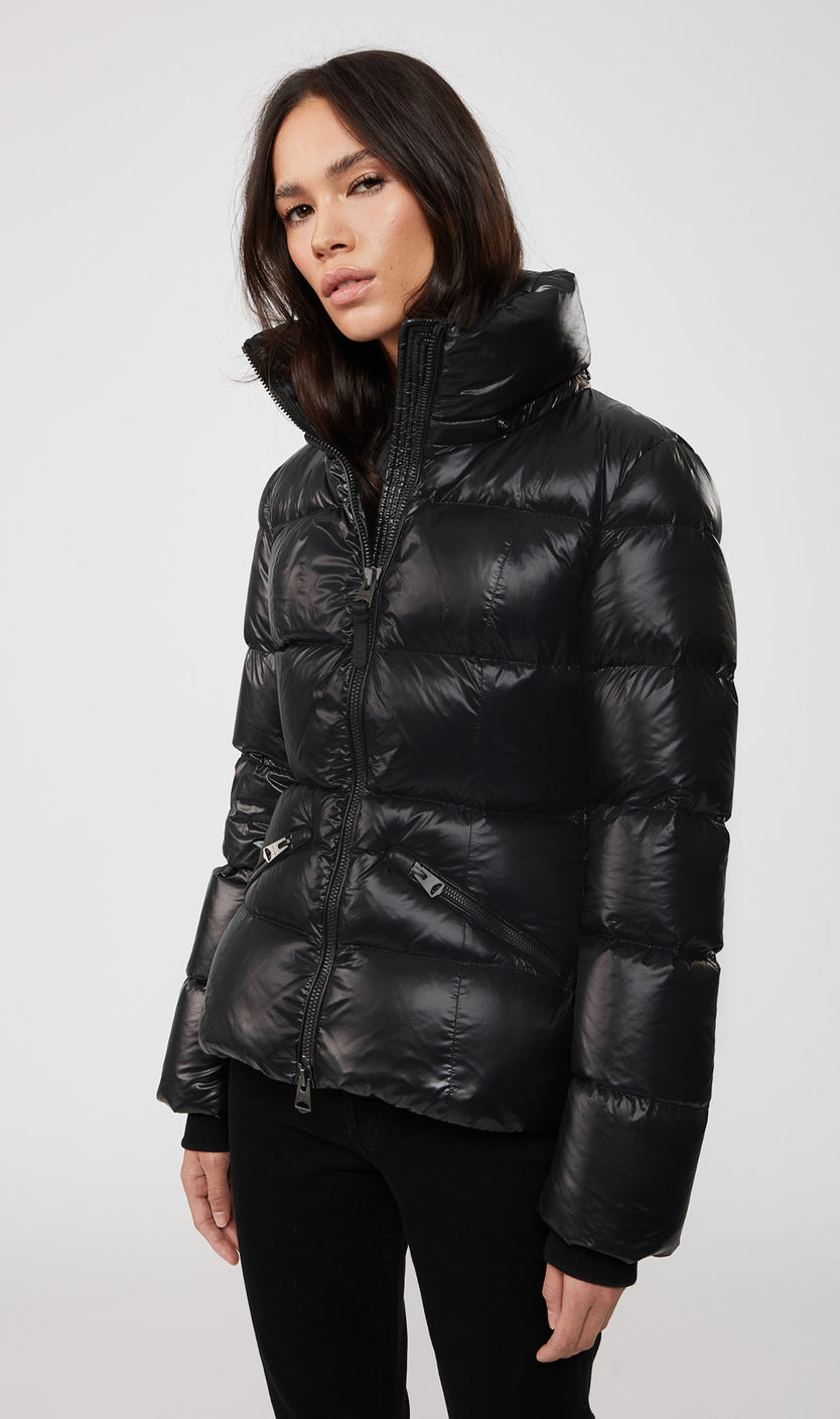 MACKAGE MADALYN DOWN WOMEN'S JACKET W/ REMOVABLE HOOD MADALYN-BLACK