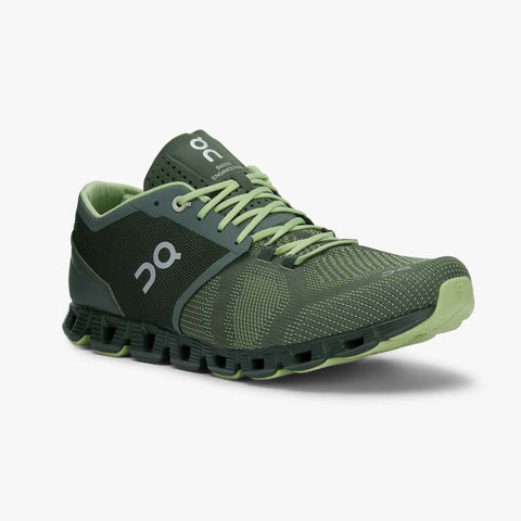 ON CLOUD X MEN'S SNEAKERS Cloud X M-Forest/Jungle