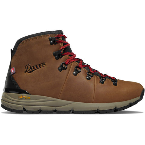 "Danner Mountain 600 4.5"" Brown/Red 200G Mens Boots 62144"