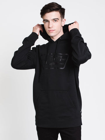 Vans Full Patched Pullover Hoodie Mens VN0A49JWBLK