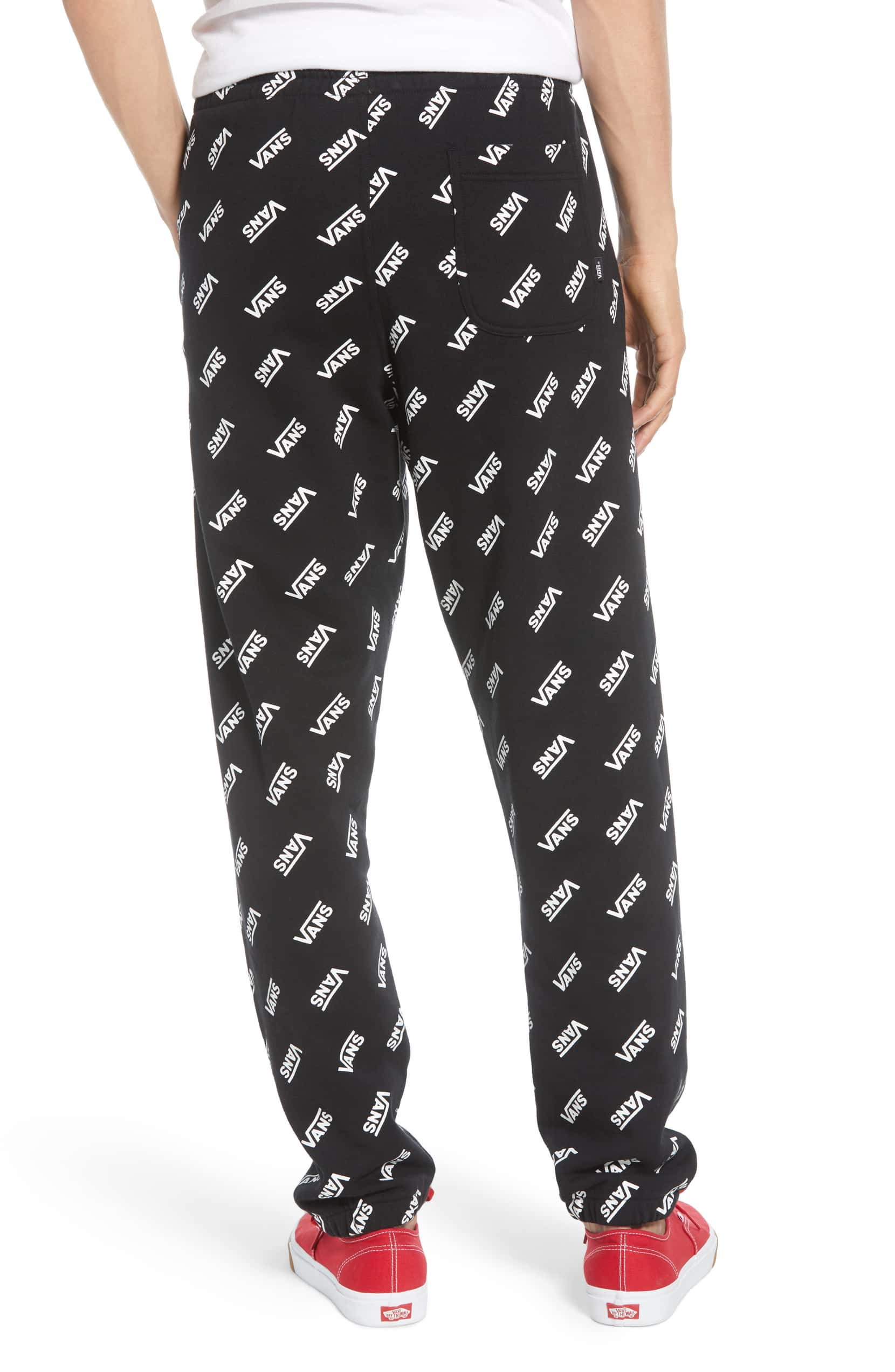 Vans Distorted Fleece Sweatpants Mens VN0A45ASBLK