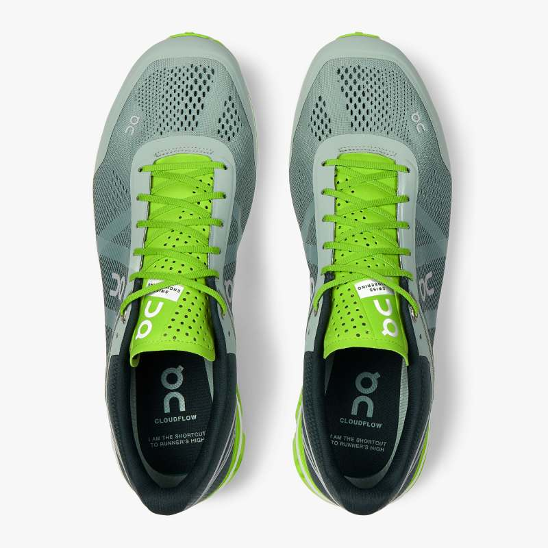 ON CLOUDFLOW MEN'S SNEAKER cloudflowm-moss/lime