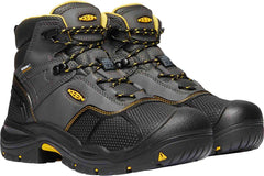 Keen LOGANDALE 6'' WP SOFT TOE M-RAVEN/BLACK Mens shoes 1020151