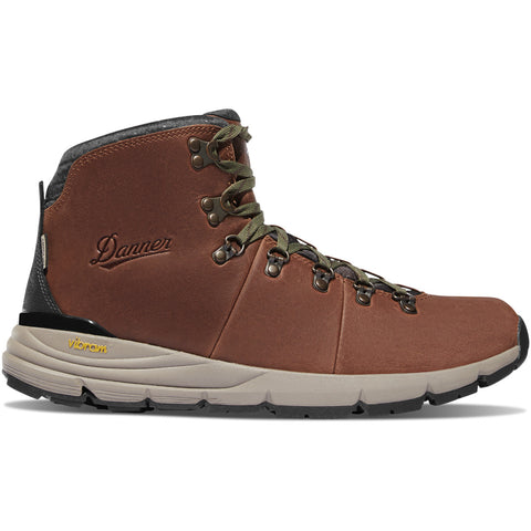 Danner Mountain 600 4.5' Walnut/Green Mens Boots 62272