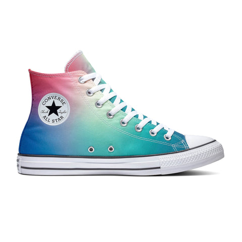 CONVERSE CHUCK TAYLOR ALL STAR OMBRE PSYCHEDELIC HOOPS HI UNISEX SNEAKERS 167592C