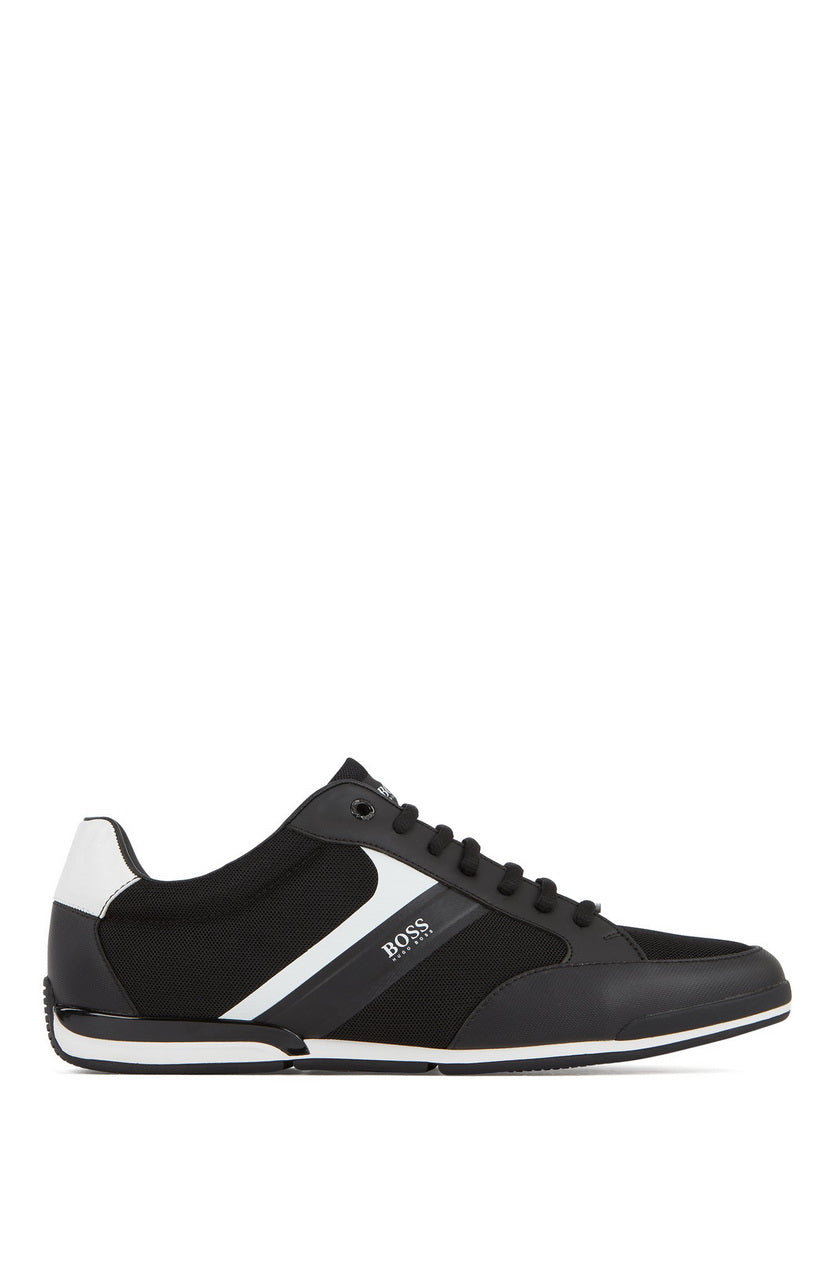 HUGO BOSS SATURN_LOWP_METH MEN'S LACE-UP SNEAKER 50412582-001
