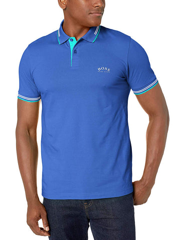 HUGO BOSS Paul Curved 10196402 01 Mens Polo 50412675-422