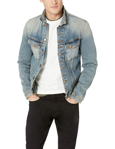 NUDIE JEANS BILLY MEN'S DENIM JACKET 160606