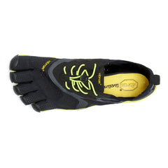 VIBRAM V-RUN Black/Yellow Mens Five Fingers 16M3101