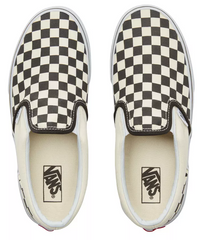 VANS CHECKERBOARD SLIP ON KID'S SNEAKER VN000ZBUEO1