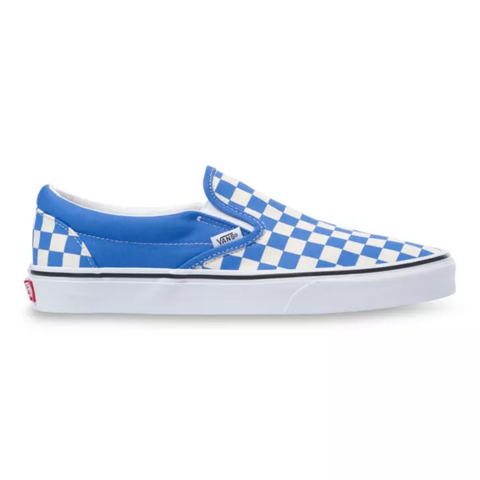 VANS UA CLASSIC SLIP-ON CHECKERBOARD NEBULAS BLUE UNISEX SNEAKER VN0A4BV31GB
