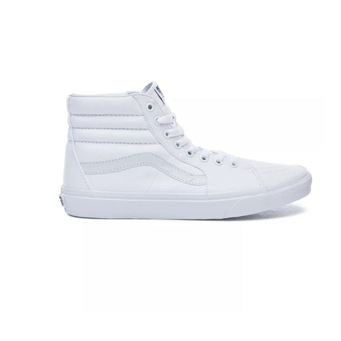VANS SK8-HI CANVAS TRUE WHITE UNISEX SNEAKERS VN000D5IW00
