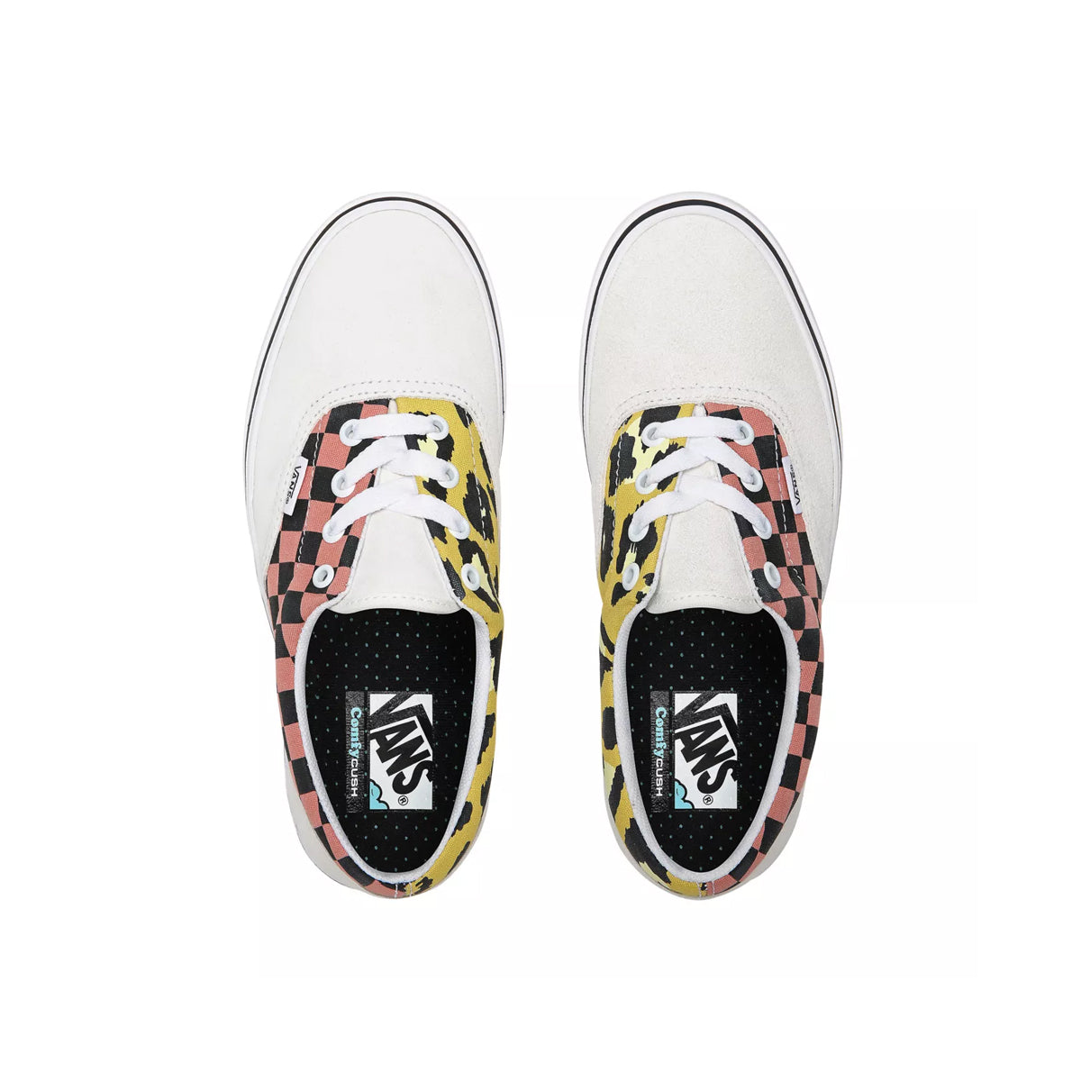 VANS COMFYCUSH ERA (MIXED MEDIA) WHITE/MULTI UNISEX SNEAKERS VN0A3WM91PC