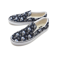 VANS CLASSIC SLIP ON FLASH SKULLS UNISEX SNEAKERS VN0A4U381HJ