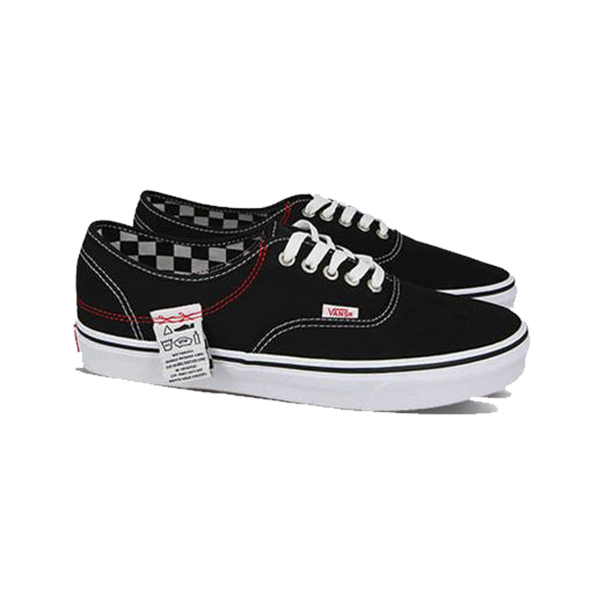 VANS AUTHENTIC DIY HC BLACK/TRUE WHITE UNISEX SNEAKERS VN0A4UUCU7B