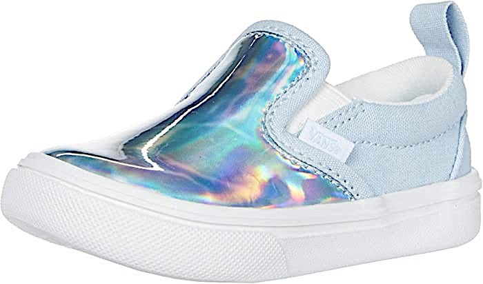 VANS SLIP-ON V AUTISM AWARENESS COMFYCUSH TODDLERS SNEAKER VN0A4TZKWI7