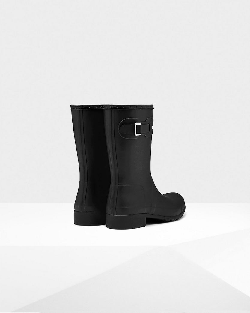 Hunter Women's Original Tour Short Rain Boots WFS1026RMA-BLK
