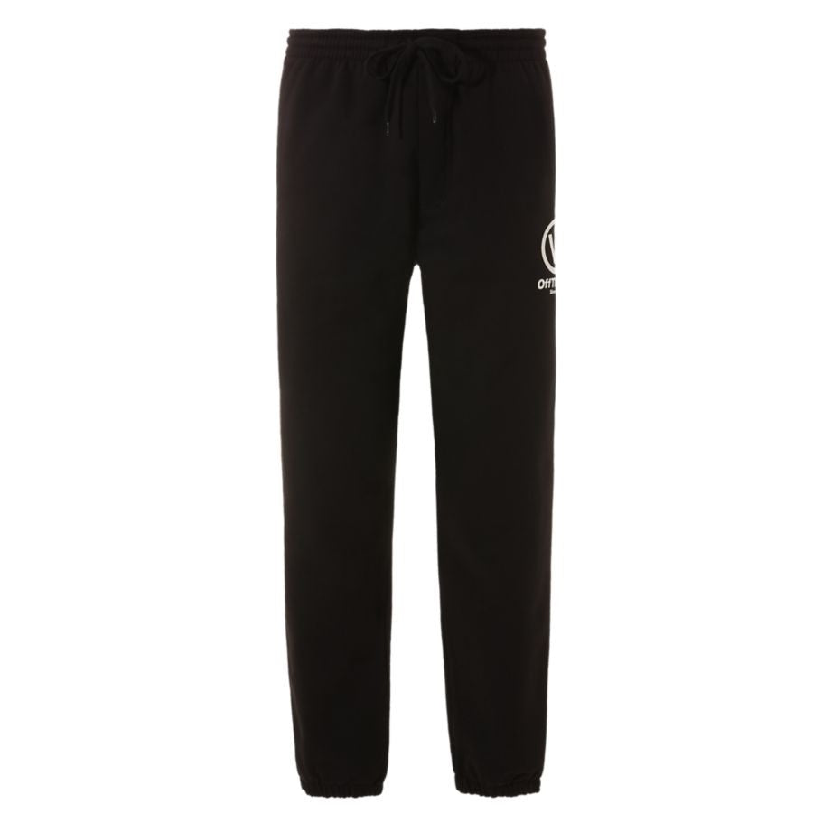 Vans Distorted Performance Logo Sweatpants Mens VN0A45CUBLK