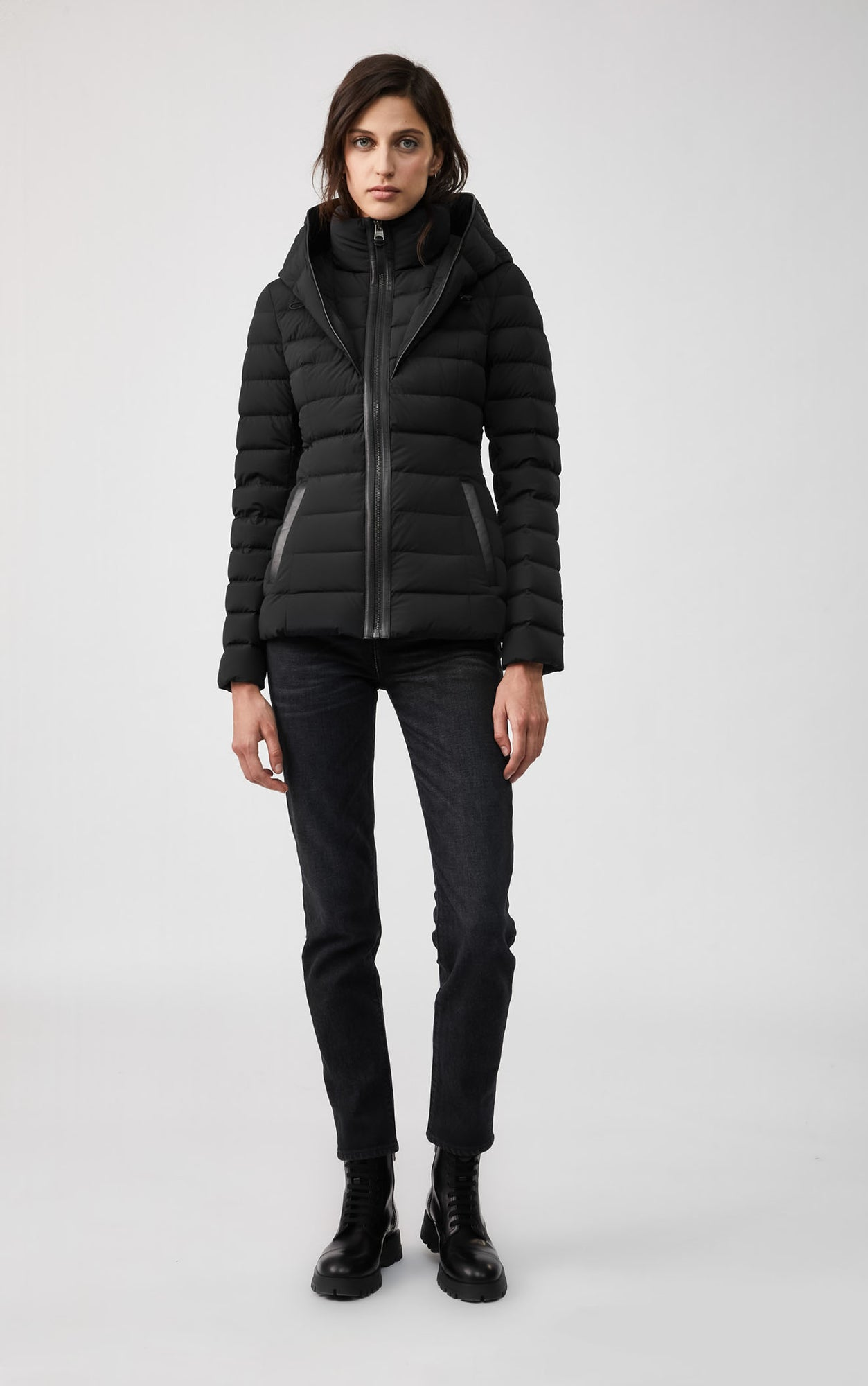 MACKAGE ANDREA LIGHTWEIGHT DOWN WOMEN'S JACKET ANDREA-R-BL