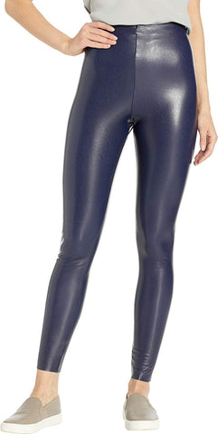 Commando Faux Leather with Perfect Control Women's Legging slg06-nvy