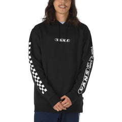 Vans KALEIDOSCOPE CHECK PULLOVER HOODIE Mens VN0A49T4BLK