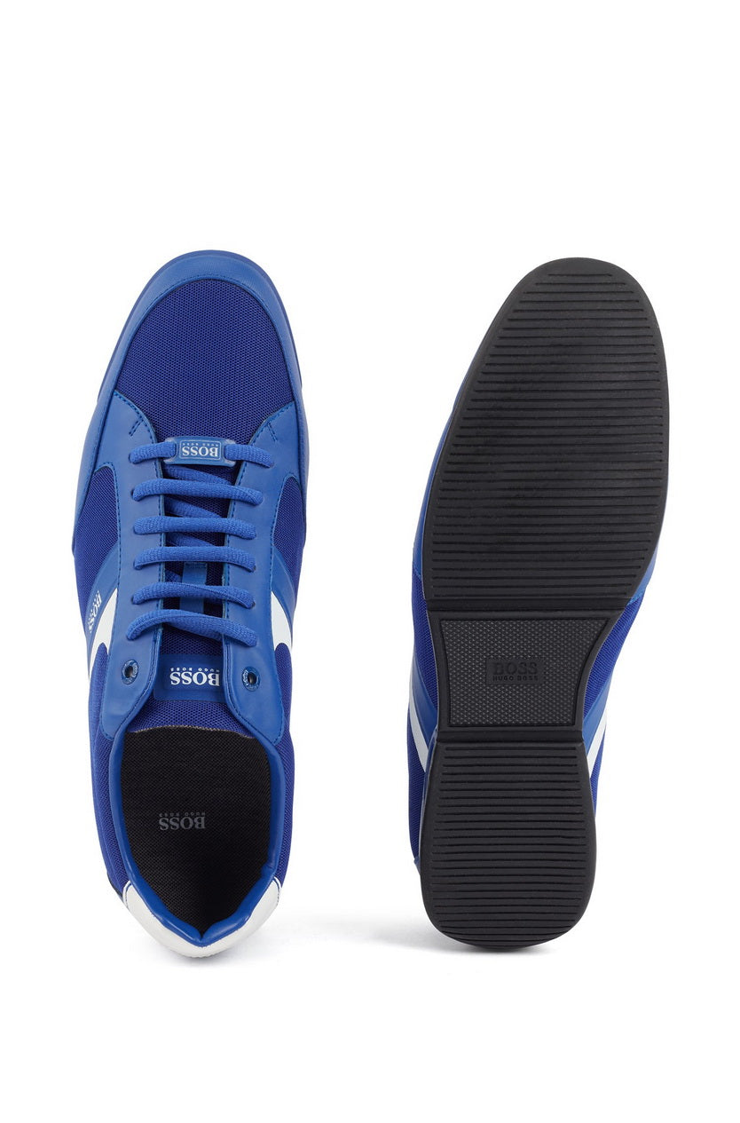 HUGO BOSS SATURN LOW MESH MEN'S LACE-UP SNEAKER 50412582-430