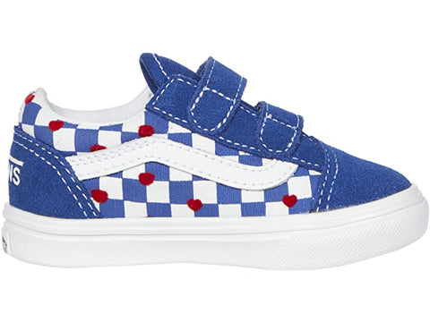 VANS OLD SKOOL V AUTISM AWARENESS COMFYCUSH TODDLER SNEAKER VN0A4TZIWI4
