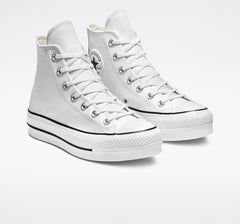 Converse Chuck Taylor All Star Platform Clean Leather High Top Womens 561676C