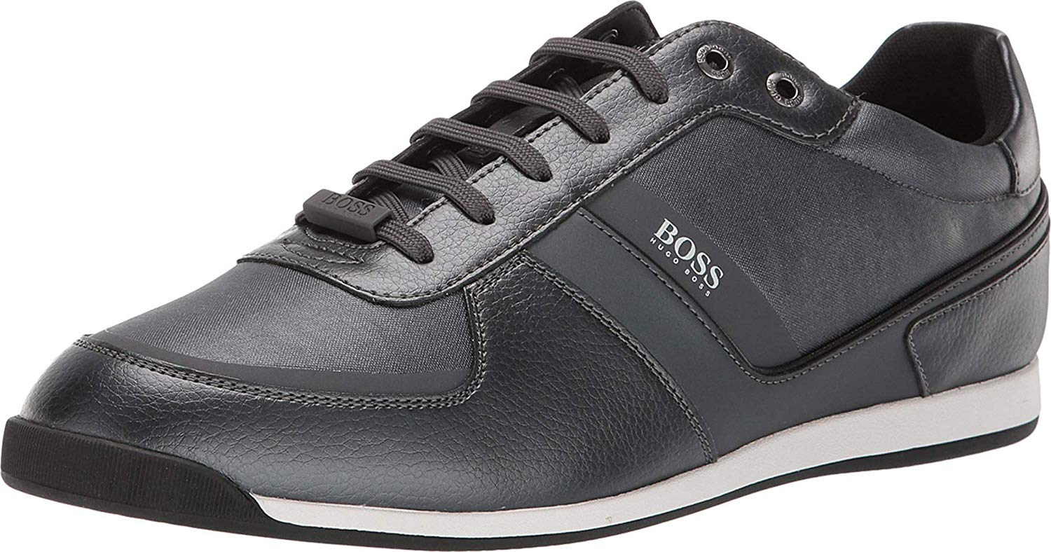HUGO BOSS GLAZE_LOWP_NYMT MEN'S LACE-UP SNEAKER 50412563-022
