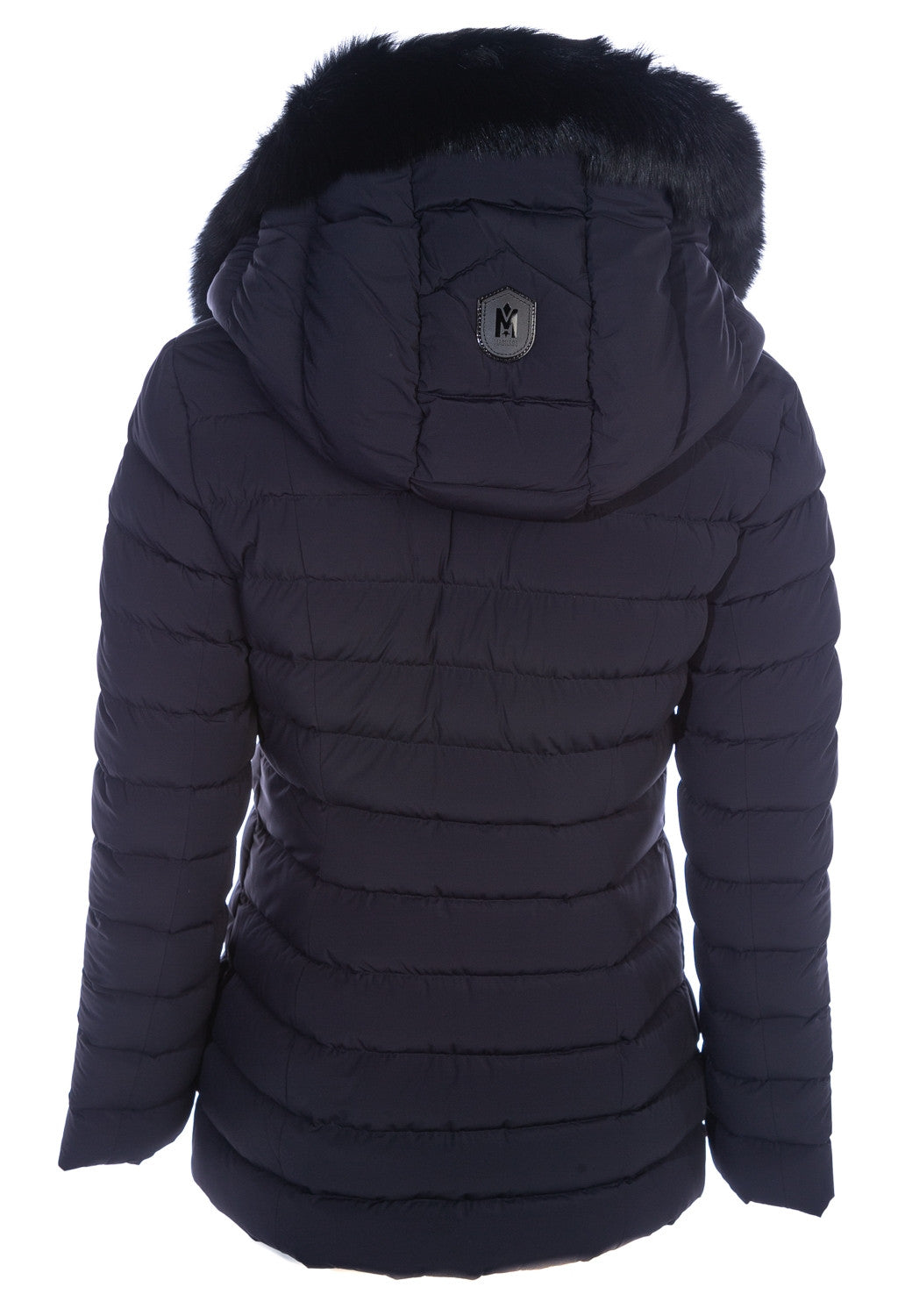 MACKAGE KADALINA-BX WOMEN'S DOWN JACKET W/ BLUE FOX FUR COLLAR KADALINA-BX-Navy