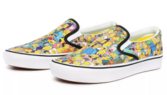 VANS UA COMFYCUSH SLIP-ON X THE SIMPSONS SPRINGFIELD UNISEX SNEAKER VN0A3WMD1TJ