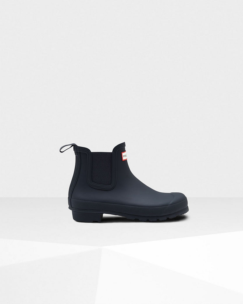 Hunter Women's Original Chelsea Boots  WFS2006RMA-NVY