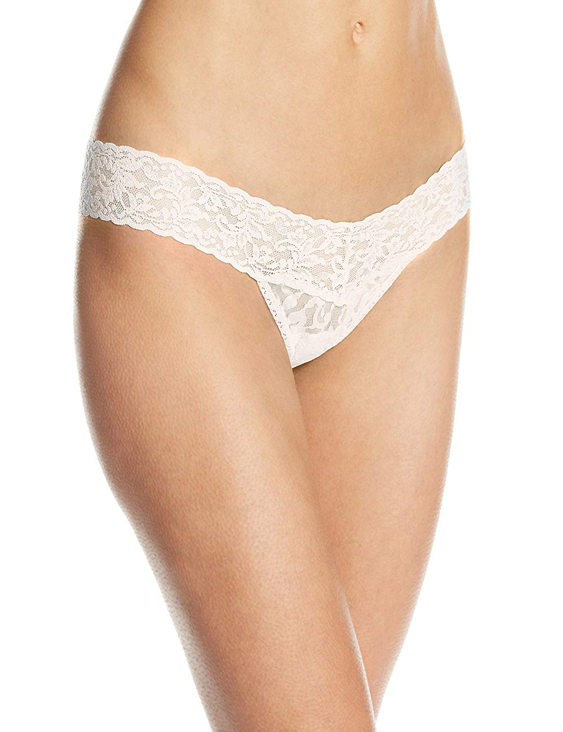 Hanky Panky Signature Lace Lowrise Womens Thong 4911P-IVOR