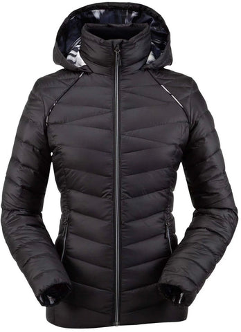 Spyder Women's Timeless Hoodie Down Jacket 38194027-001