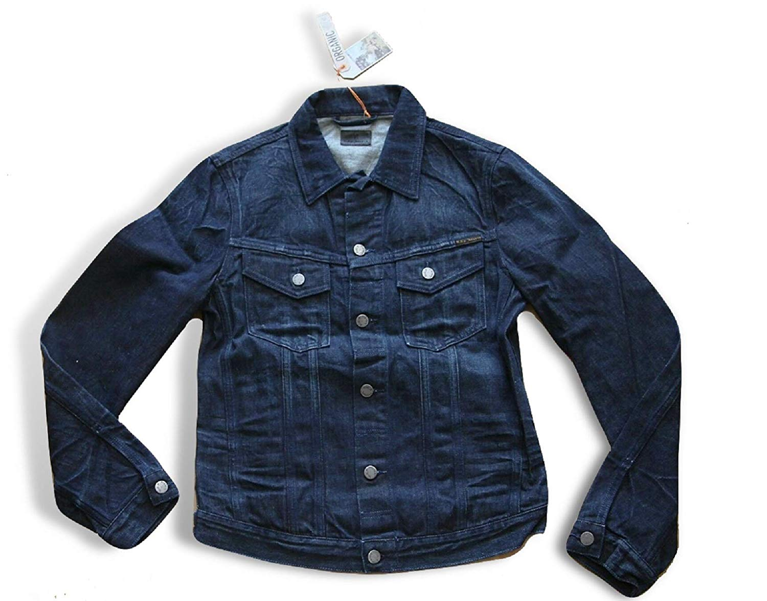 NUDIE JEANS BILLY MEN'S DENIM JACKET 160552