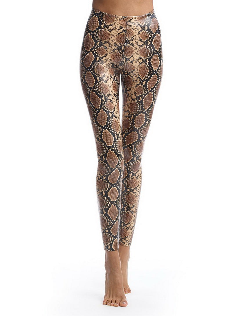 COMMANDO FAUX LEATHER SNAKE WOMEN'S LEGGING SLG50-SNAKE