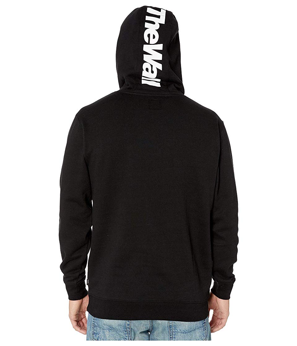 Vans Distorted Performance Hooded Sweatshirt Mens VN0A456IBLK