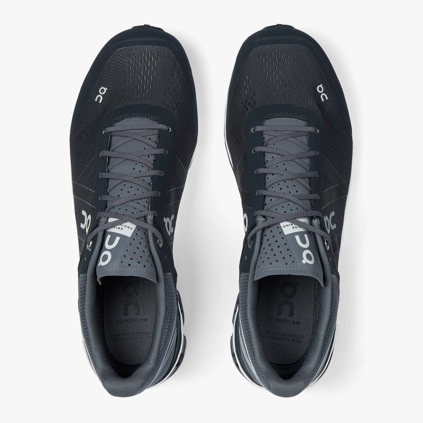 On Running Cloudflow Mens Sneaker Cloudflow Black / Asphalt